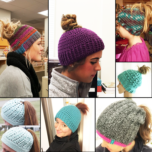 Crochet Ponytail Hat Unique Ponytail Beanie Crochet Pattern