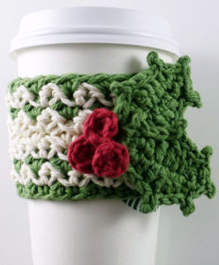 Mistletoe crochet cozy pattern