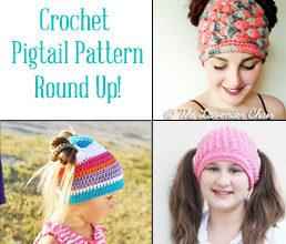 crochet pigtail hat pattern