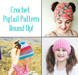 crochet pigtail hat pattern