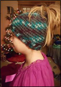 easy ponytail beanie pattern