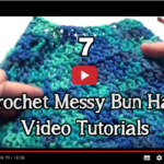 Videos That Show You How To Crochet A Ponytail Hat