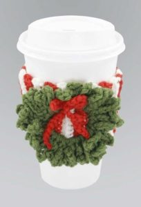 crochet christmas wreath pattern