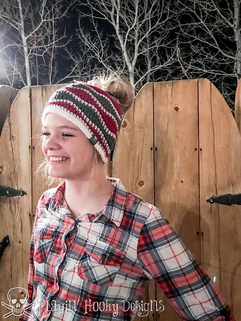 ponytail hat free pattern
