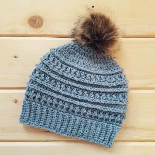 Katniss Hat  Beanie  Winter  Crochet  Ready to ship