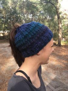 easy knit messy bun pattern