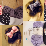 Crochet Heart Bow Pattern