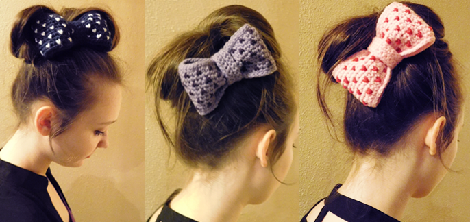 pattern for a free crochet bow