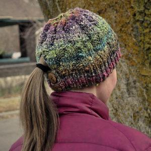 ponytail knit pattern