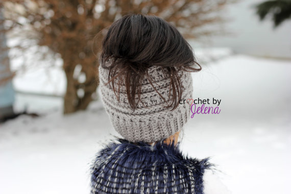 Katniss Messy Bun Hat