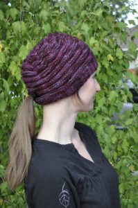 ponytail beanie pattern