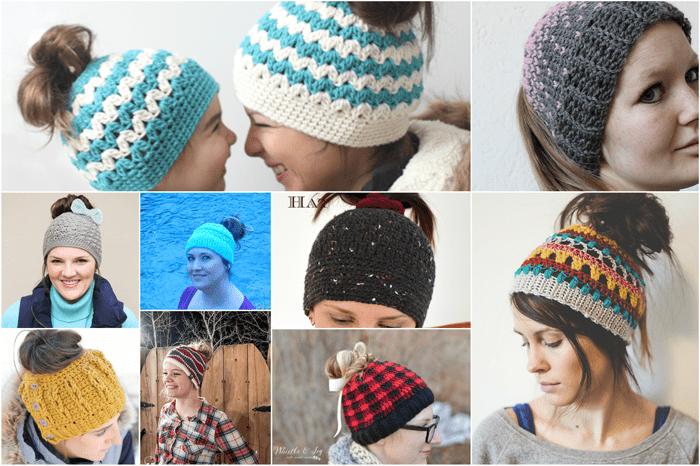 ccff0535d85 Free Crochet Messy Bun Pattern Roundup – Yarn Ballin
