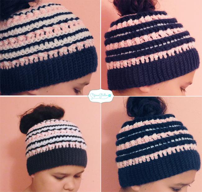 katniss ponytail hat