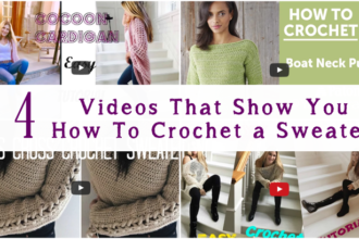 how to crochet a sweater video