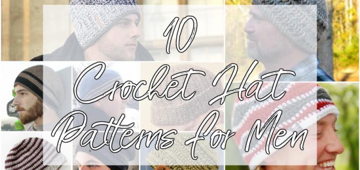 mens crochet hat patterns