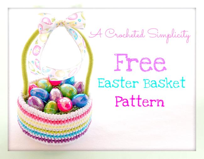 Crochet Easter Basket Pattern Roundup