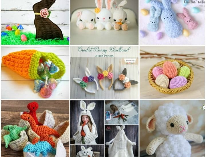 10 Adorable Easter Crochet Patterns