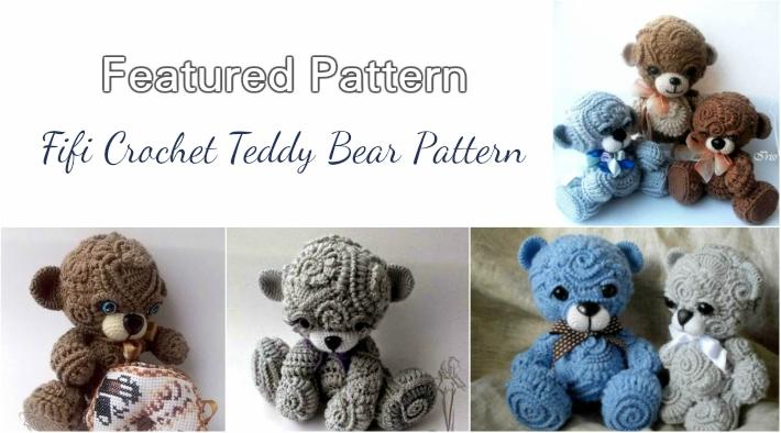 Free Crochet Teddy Bear Pattern The Best Bear Of 2018