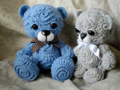 Amigurumi Teddy Bear Free Patterns : Crochet teddy bear pattern for fifi